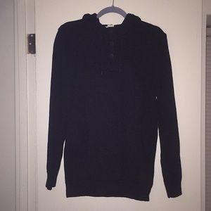 L.O.G.G. By H&M: Crew Neck Sweater with hood sz M